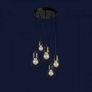 Люстры светильники Levistella 907004F-5 BK (300)