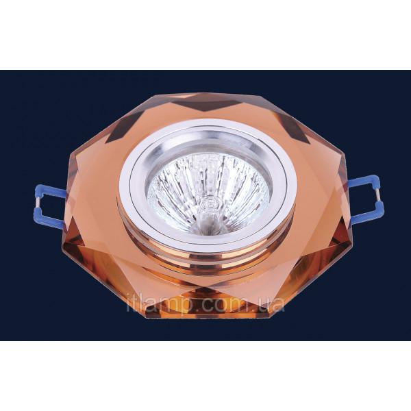 Врезной светильник со стеклом 705049