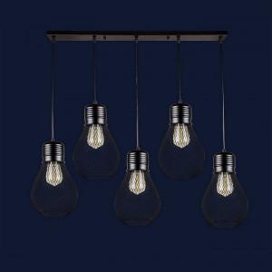 Люстры светильники Levistella 907007F-5 BK (700)