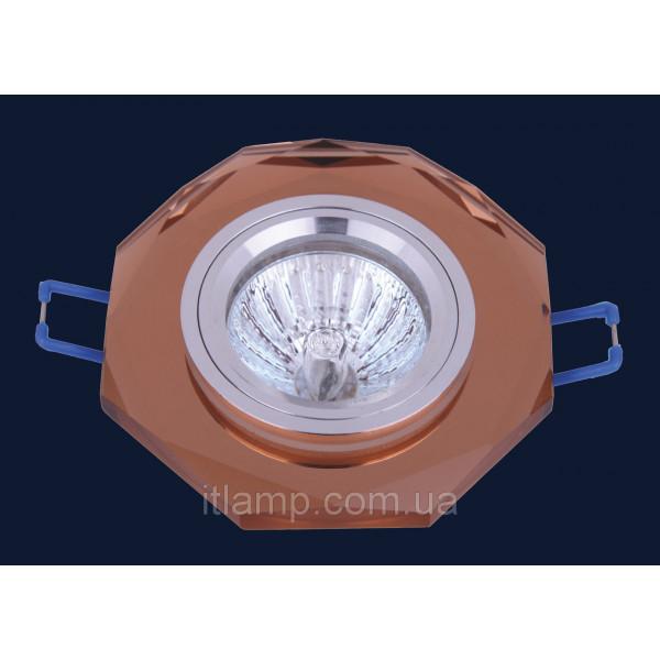 Врезной светильник со стеклом 705079