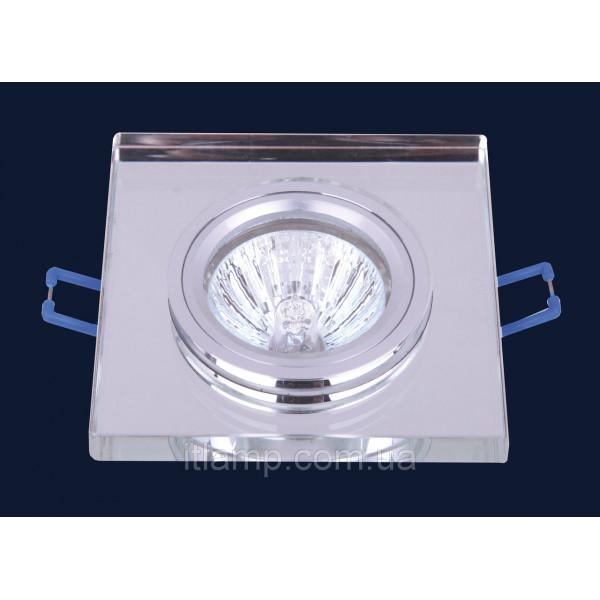 Врезной светильник со стеклом 705106