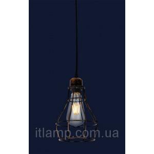 Светильник Лофт Levistella 746WXA027-1 BK+BR