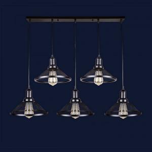 Люстры светильники Levistella 907009F-5 BK (700)