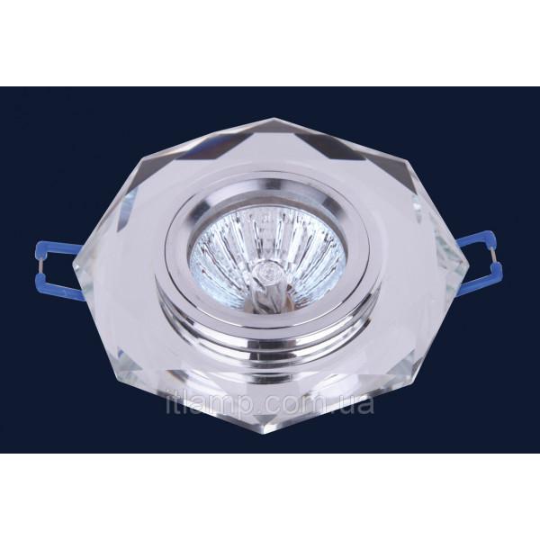Врезной светильник со стеклом 705046