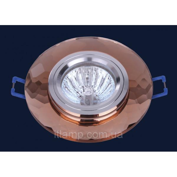 Врезной светильник со стеклом Levistella 705059