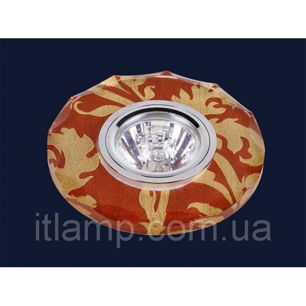 Зеркальный светильник с рисунком 716B073