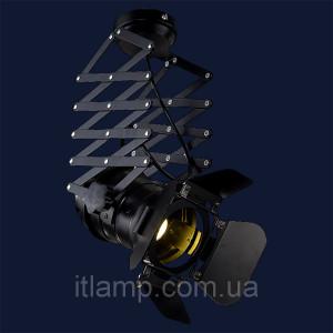Декоративный прожектор на пружине LST75215_черный