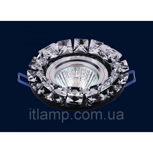 Врезной светильник со стеклом 716068