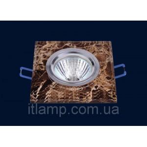 Врезной светильник со стеклом 705529