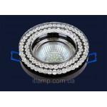 Точечный светильник круглый со стразами Levistella 716MKD078