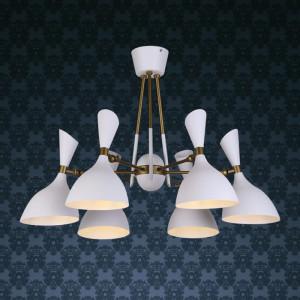 Loft светильник 756LPR1024-6 WH