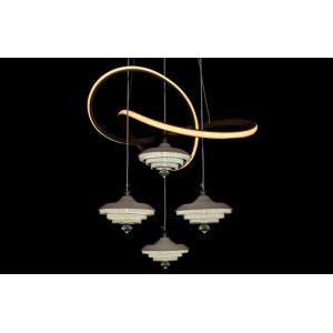 LED люстры LS 9289-4