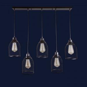 Люстры светильники Levistella 907008F-5 BK (700)