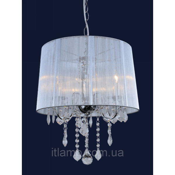 Люстра абажурная 7204003WH-3WH SILVER