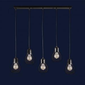Люстры светильники Levistella 907004F-5 BK (700)