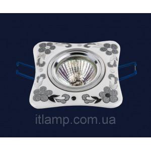 Врезной светильник со стеклом 70597 CR