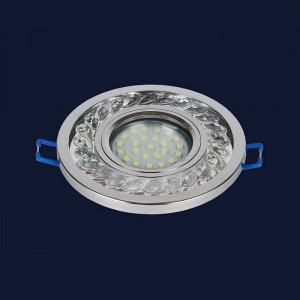 Точечный светильник 716MKD-C21 CH  (LED лента в комплекте)
