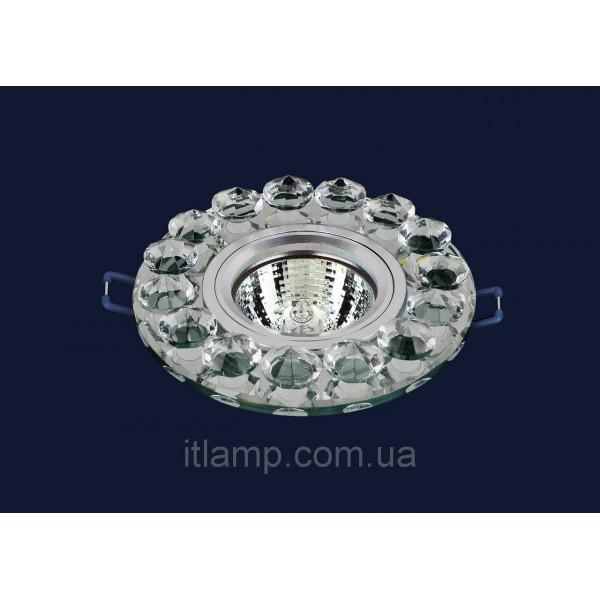 Врезной светильник со стеклом 716096