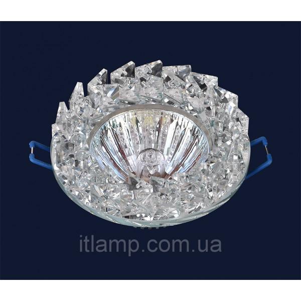 Врезной светильник со стеклом 716186