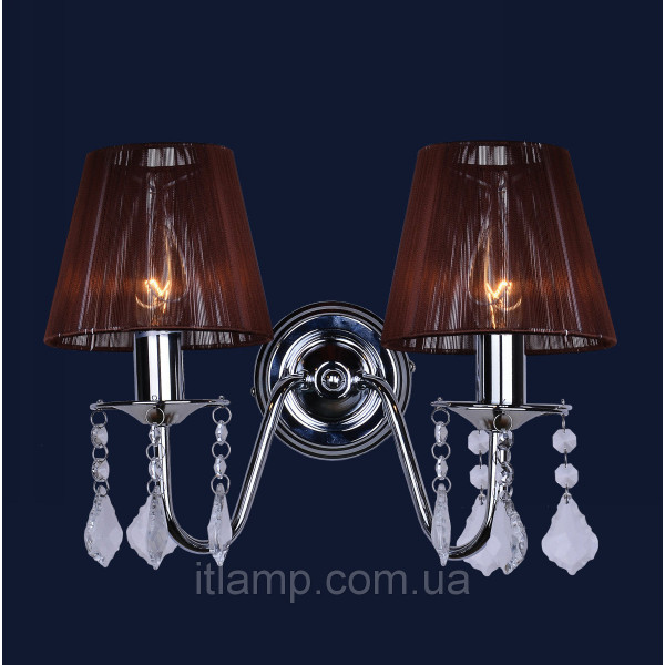 Двойное бра 720W4002WH-2WH BROWN