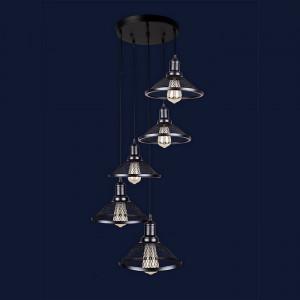 Люстры светильники Levistella 907009F-5 BK (300)