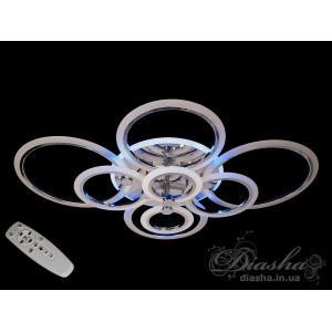 LED люстры A8022/8HR LED 3color dimmer