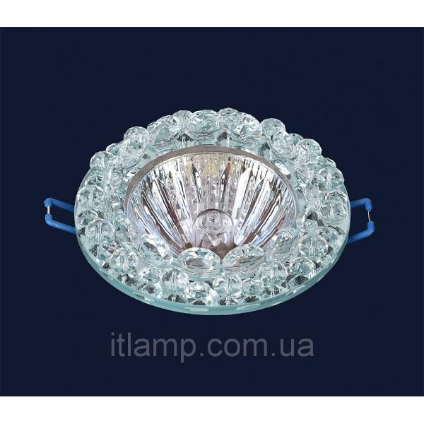 Врезной светильник со стеклом 716216