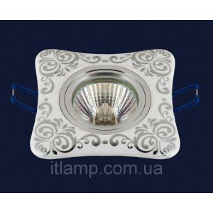 Врезной светильник со стеклом 70595 CR