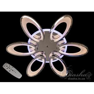 Cветодиодная люстра Diasha 1673/6HR LED 3color dimmer