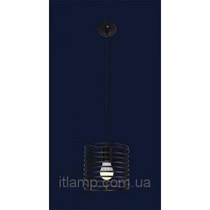 Черный подвес на 1 лампочку 7079150-1 BK