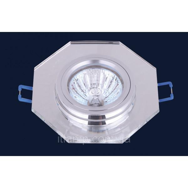 Врезной светильник со стеклом 705026