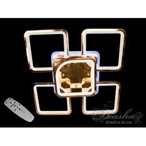 Люстры светодиодные Diasha 8060/4+1G LED 3color dimmer