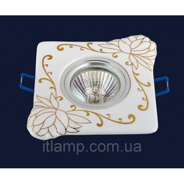 Врезной светильник со стеклом 70598 GD