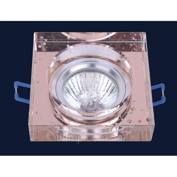 Врезной светильник со стеклом 705179