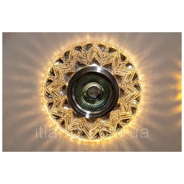 Врезной светильник Diasha 7031B White Led