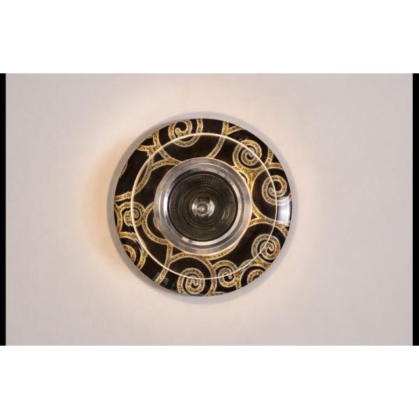Точечный светильник LS 6701R BK