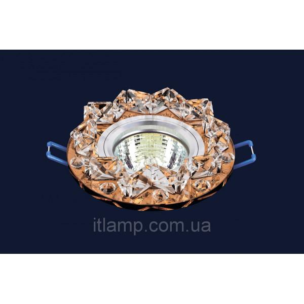 Врезной светильник со стеклом Levistella 716109