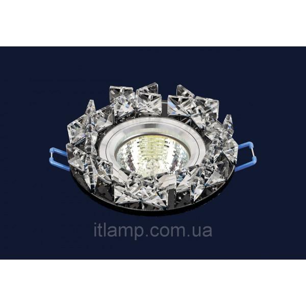 Врезной светильник со стеклом 716118