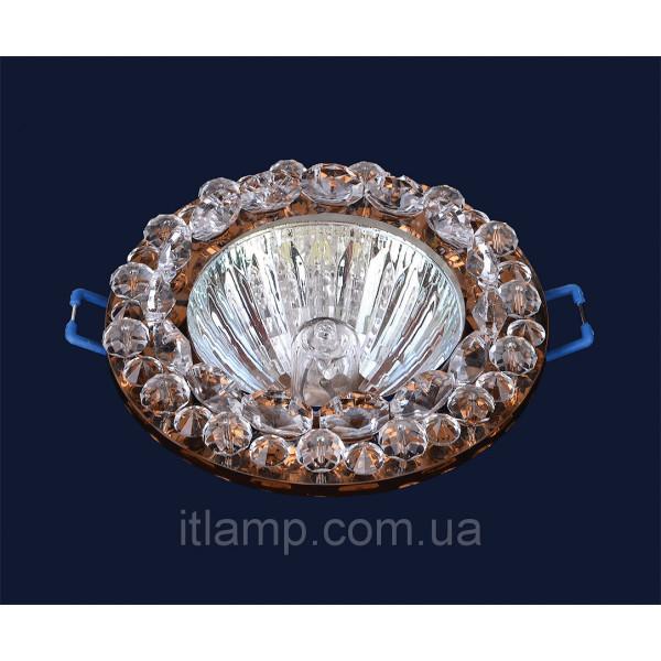 Врезной светильник со стеклом 716212