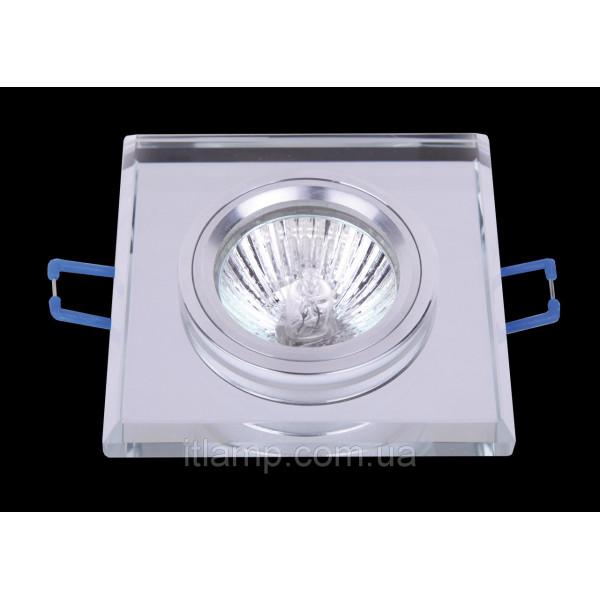Врезной светильник со стеклом 705116