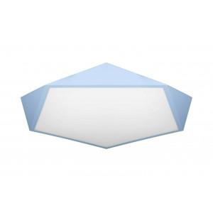 LED люстра потолочная светодиодная Levistella 752L78 BLUE