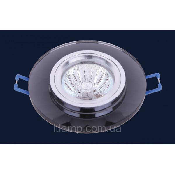 Врезной светильник со стеклом 705088