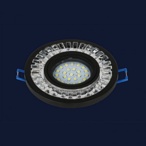 Точечный светильник 716MKD-C20 BK  (LED лента в комплекте)