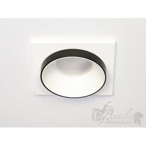 Точечный светильник 160B-35-WH-BK