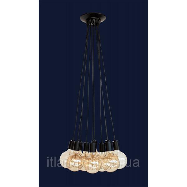 Люстра потолочная на 6 ламп Levistella 7527120-6 BK