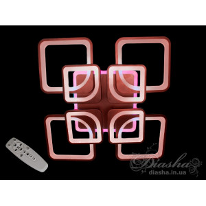 LED люстра Diasha 8060/4+4BK LED 3color dimmer