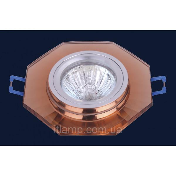 Врезной светильник со стеклом Levistella 705029