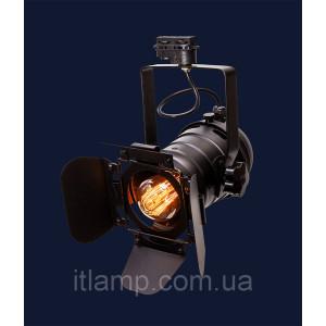 Универсальный светильник прожектор Levistella 75219 BK (трек)