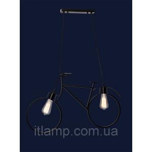 Люстра велосипед 756PR7021-2 BK
