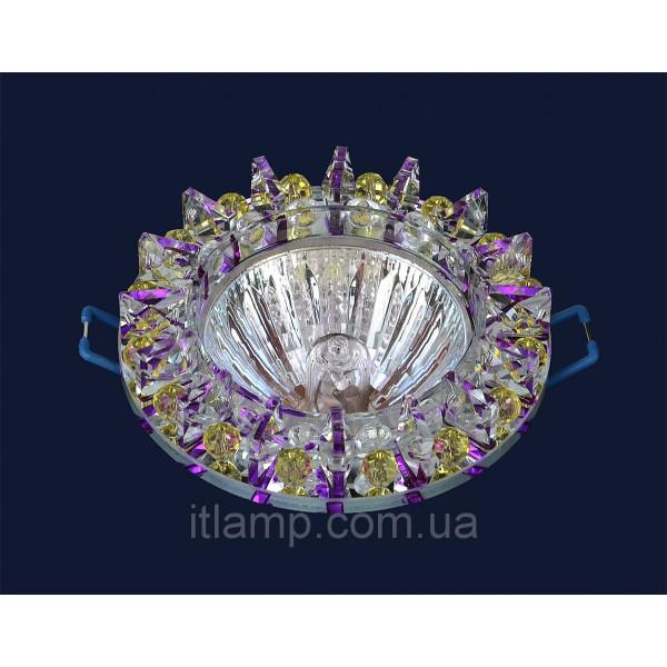 Врезной светильник со стеклом 716196